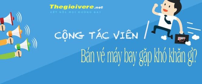Cong tac vien ban ve may bay